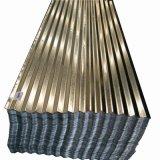4X8によって電流を通される波形の鋼板