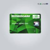 ID de estudiante de la impresión de tarjeta de plástico