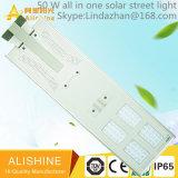 정부 프로젝트 한세트 50의 W LED 램프를 위한 태양 거리 조명
