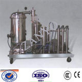 600L / H High Efficiency Vacuum Cooking Oil Filtering Machine