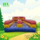 Divertido juego de multijugador tierra inflables Bungee ejecutando juegos de deportes