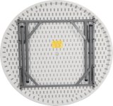 таблица 4FT пластичная круглая обедая (YCZ-115R)