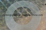 травленое стекло 6mm круглое Tempered кисловочное