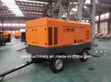 Compresor de aire móvil diesel portable del tornillo del fabricante con Ce