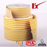 Backup de fita adesiva resistente tiras de espuma de borracha