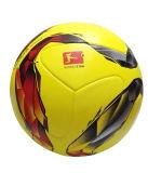 新しい2016年のBundesligaのフットボール良質PUの粒子の穀物標準第5のゲーム・ボール