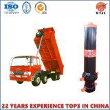 A extremidade dianteira do cilindro hidráulico de multiestágio venda directa de fábrica