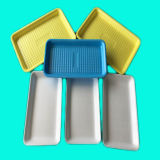 Gold Supplier Disposable PP plastic Food of degrees of Tray for Meat Seafood and Vegetable