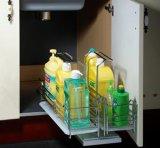調理のために便利な光沢度の高い食器棚
