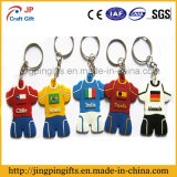 2016 World Cup Fans Fashion Personality Jersey PVC Chaveiro