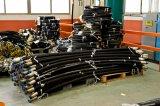 As mangueiras hidráulicas de serviço pesado, correias, RAM, Válvula de Controle da Bomba e o equipamento