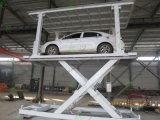 Exporté ce lever de voiture de type ciseaux de haute qualité