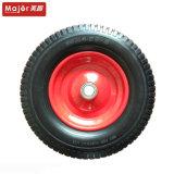 16 Zoll-Eisen-Speiche-Polyurethan-Schaumgummi-Rad verwendet für landwirtschaftliches Fahrzeug-Rad, Garten-Hilfsmittel-Rad, etc.