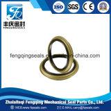 Cylindre de pompe couvercle métallique du joint d'huile hydraulique