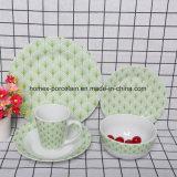 Western New Style populaire jeu de la vaisselle en porcelaine pour restaurant