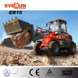 1.5ton Lifting CapacityマルチFunction中国Compact Bucket Loader