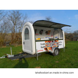 거리 다채로운 커피 음식 손수레, Vending 이동할 수 있는 음식 트럭