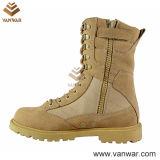 Ботинки пустыни пустыни Tan высокия стандарта воинские (WDB019)