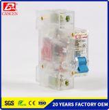 Фабрика 1p 2p 3p 4p Factpry Drect C45 MCB Китая одобрила полные материалы для серебряного контакта, катушки бондаря и придавая огнестойкость пластичной раковины MCB