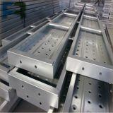 Prancha de aço de Walkboard do andaime de Pregalvanized para a construção