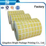 El papel de aluminio del papel de embalaje para pasajes las toallitas húmedas