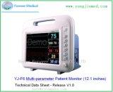 12 de Draagbare Handbediende Monitor ECG van het kanaal met Beste Prijs