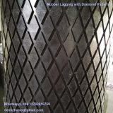 Vulkanisierte Riemenscheiben-Verkleidung für Förderanlagen-Trommel
