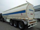 45cbm Kohlenstoffstahl-Kraftstoff-Rohöl-Dieseltanker-LKW-halb Schlussteil