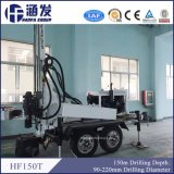 Máquina portable del taladro del receptor de papel de agua de Hf150t
