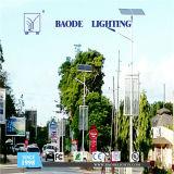 luz de rua solar da bateria de lítio 50W de 9m