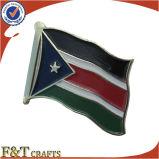 주문 금속 연약한 사기질 아름다운 미국 국기 Pin (FTFP1606A)