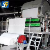 Impresas personalizadas pañuelos de papel de la línea de producción/ máquina para hacer papel higiénico