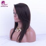 Capelli pieni bassi di seta superiori 100% del Virgin della parrucca del merletto 4*4