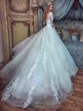 Платье венчания Gv20173 Tulle тучное Corina длиннего шнурка мантий шарика втулок Bridal