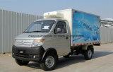Vagão coberto Refrigerated pequeno de Changan 3 toneladas de caminhão do congelador