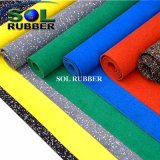 Fire Resistance Fitness Commercial Gym Rubber Flooring