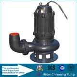 원심 잠수정 90kw 모터 더러운 수도 펌프