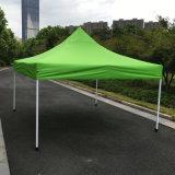 der 3X3m Kalk-Grün-im Freienstahl knallen oben Gazebo-faltendes Zelt
