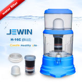 16L Mineral Water Pot con Flat Lid Blue Color