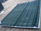 PVCは電流を通された溶接された金網の塀のパネルに塗った