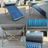 Calentador de agua solar doméstico del bajo costo de 30 tubos para 300L