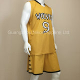 OEM Custom Sublimation Basketball Uniform