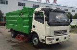 1200 galloni di lavata della strada e spazzatrice della pavimentazione del camion 4X2 di pulizia