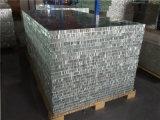 Panneaux en fibre de verre en aluminium revêtu de PVDF pour toits et murs extérieurs
