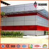 El panel compuesto de aluminio incombustible de la alta calidad del lustre
