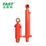 Cilindro hidráulico de profissionais para máquinas de construção personalizada