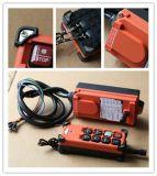 Hete Telecontrol van de Verkoop, de Industriële Draadloze Controle van de Controle AC/DC van Radio Remote voor Kraan