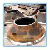 Parti di usura del frantoio del cono HP5 per i pezzi meccanici di Metso