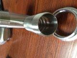 Ниппель пальца ноги штуцера трубы нержавеющей стали