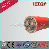 3core dirigent le câble souterrain examiné par XLPE de câble d'alimentation d'enterrement